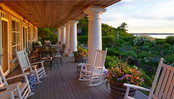 Susan Burke Nantucket garden in Outstanding American Gardens