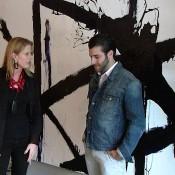 Susanna and Antonino Buzzetta at the Domino shop house