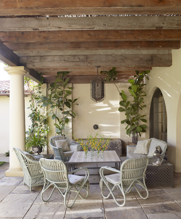 Suzanne Rheinstein designed terrace