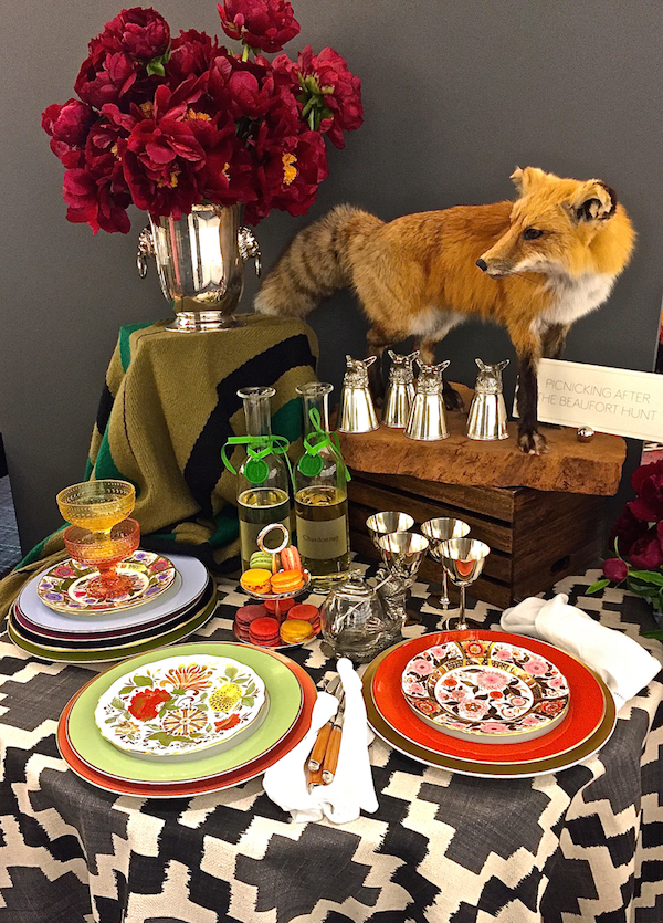 Table set for summer at Michael C. Fina