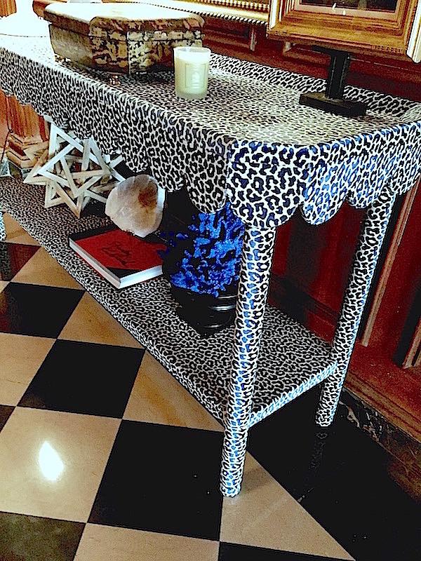 Tim Corrigan console table at Maison de Luxe