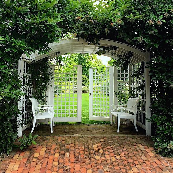 Weatherstone garden entrance