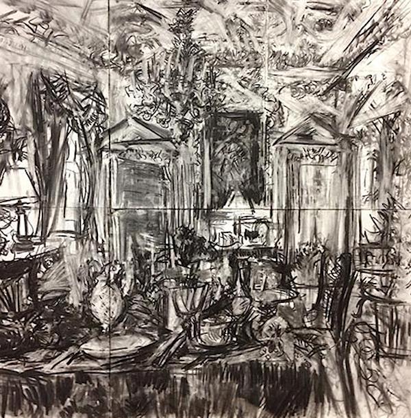 William Roper-Curzon drawing
