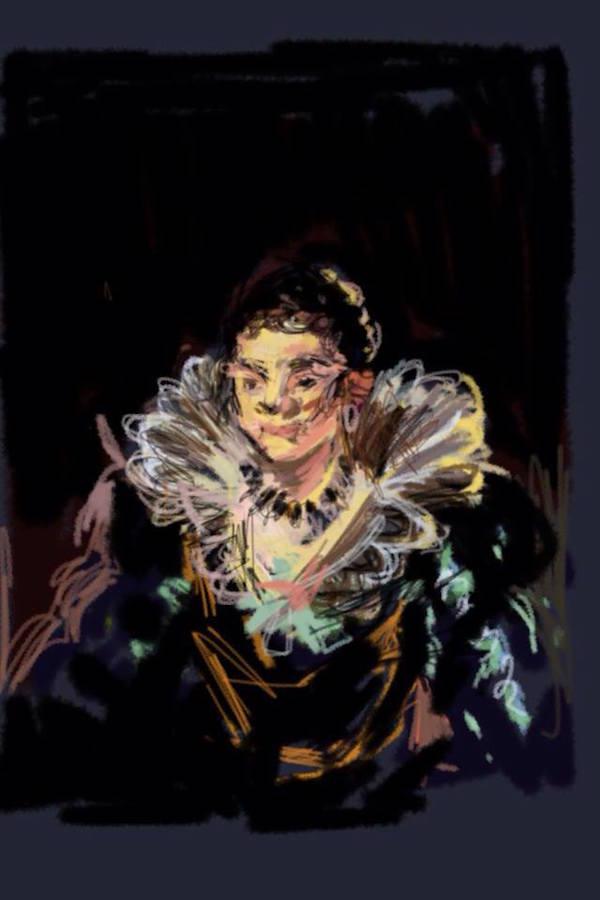 William Roper-Curzon portrait