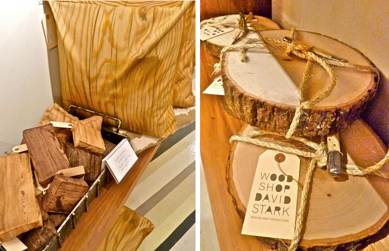 Wood Shop zip bags and cutting boards