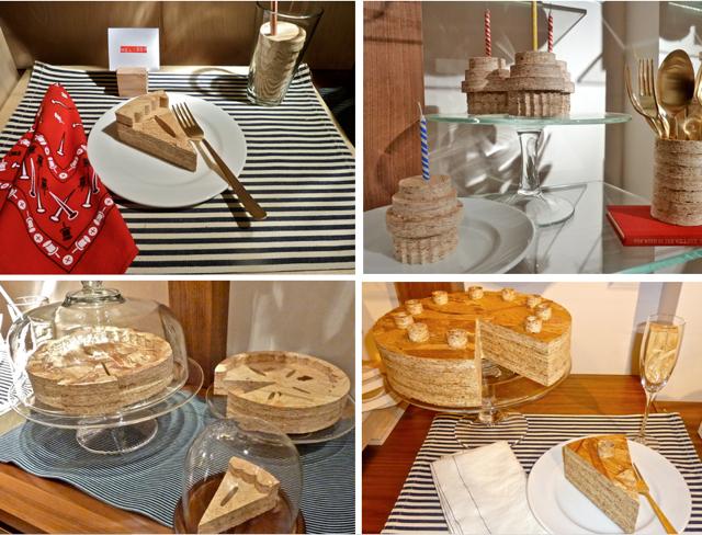 Wood shop desserts