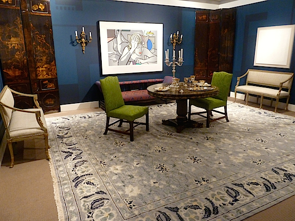 ann pyne for McMillen at Sothebys designer showhouse
