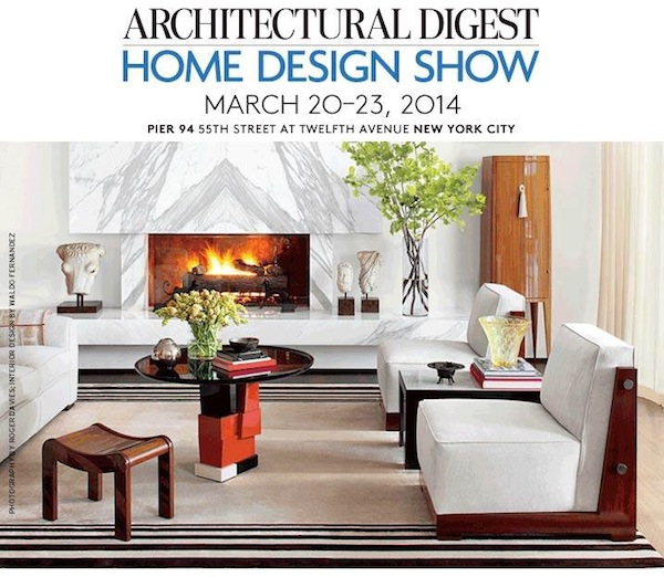 see you at the 2014 architectural digest home design show 87809