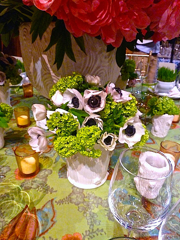 ashley whittaker Lenox Hill gala table