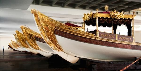 Sultans' barges in Cornucopia Magazine