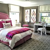 bedroom by Carey Karlan at Showhouse on the Green