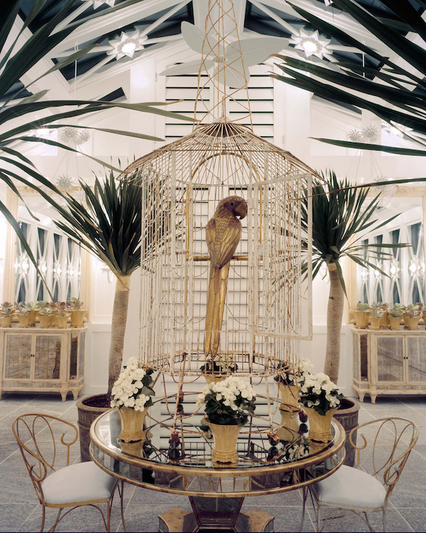 birdcage at Antique & Artisan 2nd annual garden show