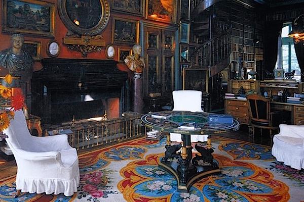 chateau de groussay library charles de beistegui