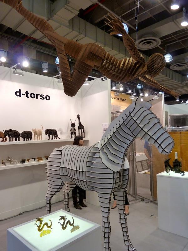 D-Torso horse