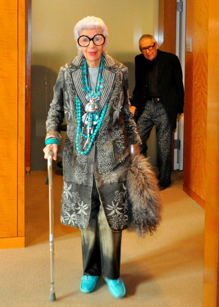 Iris Apfel talk with Dara Caponigro of Veranda at Sothebys