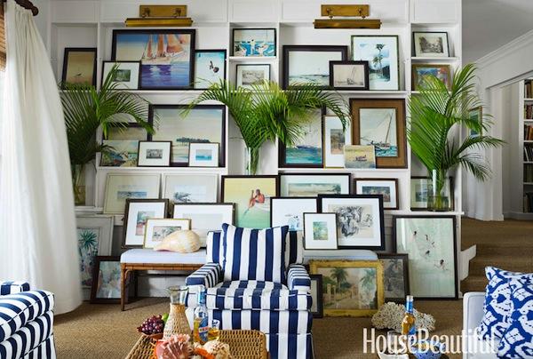 Designer Amanda Lindroth's house in Lyford Cay, Bahamas