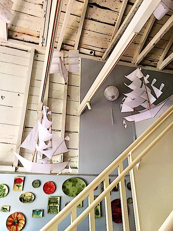kites at Scrub Oak Nantucket