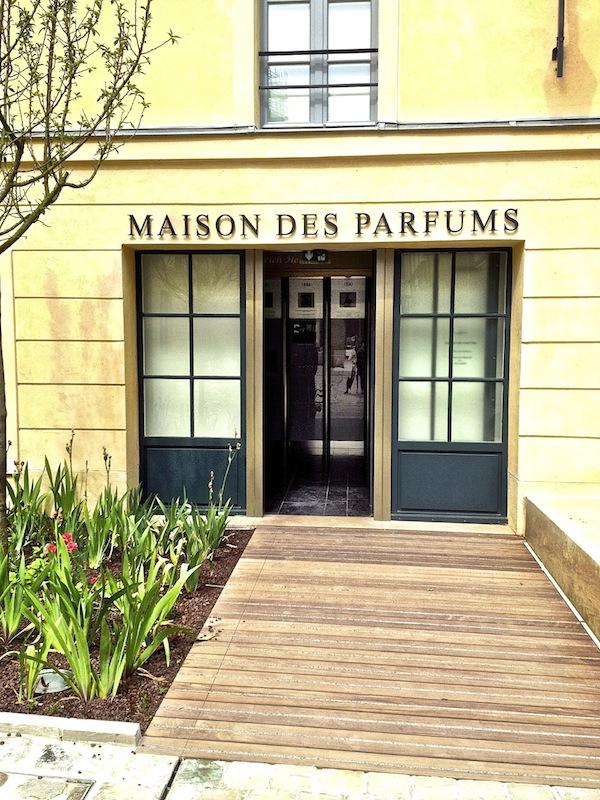 Maison des parfums at the Cour des Senteurs
