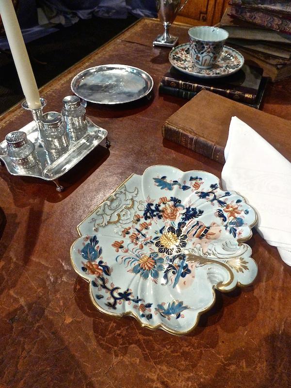 mason's ironstone Imari in Sotheby's Designer Showhouse