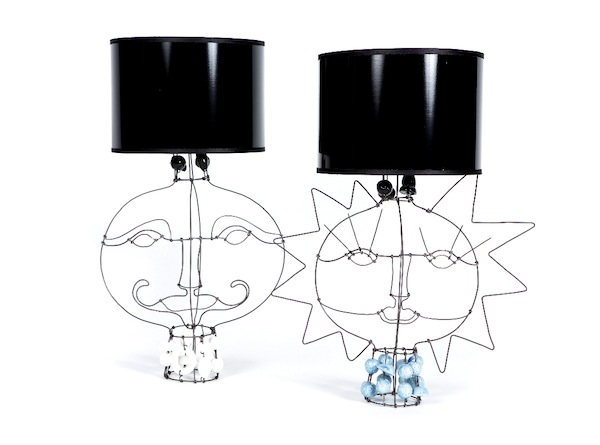 Marie Christophe Mr and Mrs Lamps