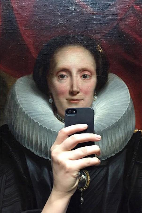 The art of remembering. Olivia Muus museum of selfies