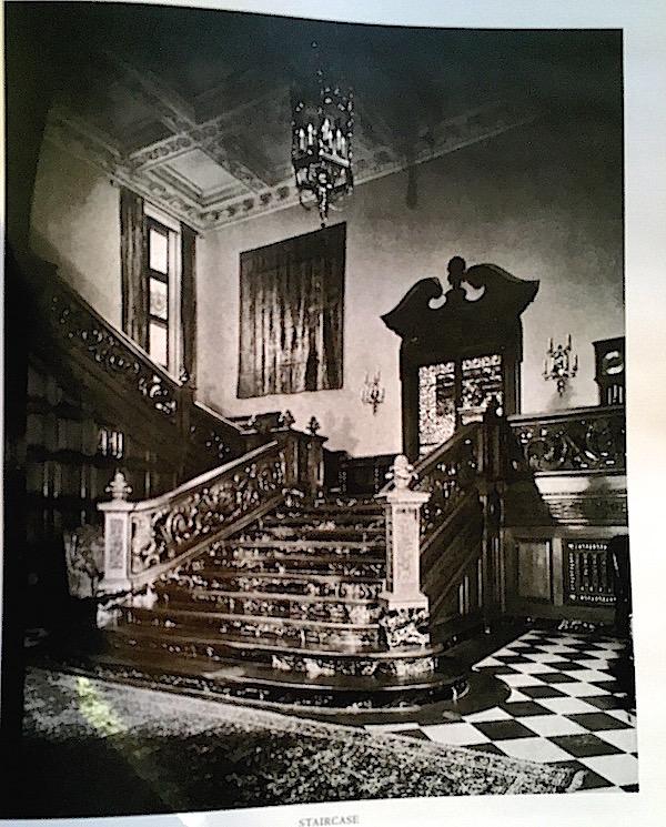 original entry of Greystone Mansion