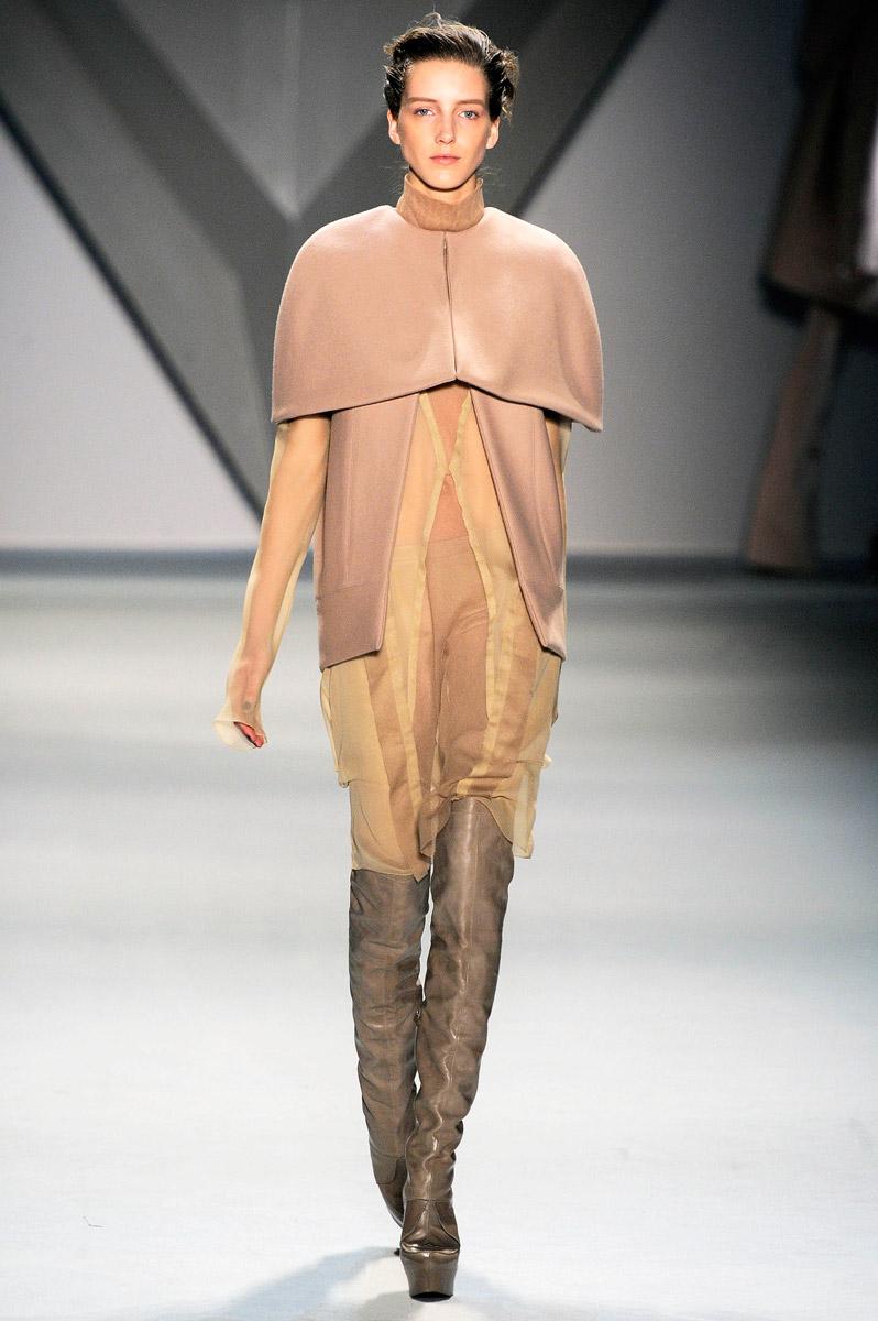 New York Fashion Week Fall 2012: Vera Wang